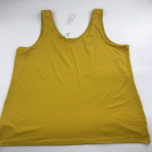 Additionelle Mustard Yellow Sleeveless *NWT* sz 5X